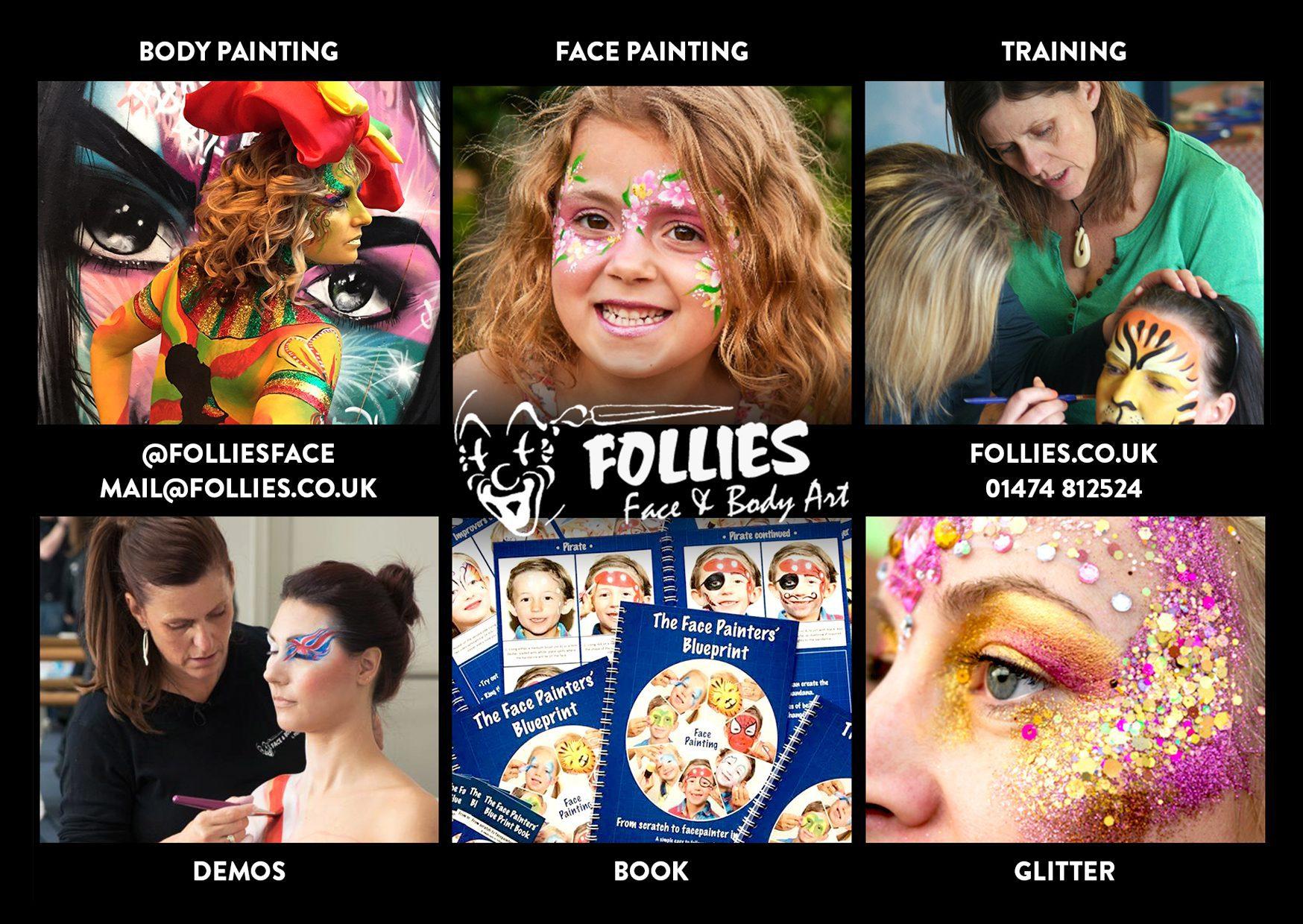 Follies Face And Body Art